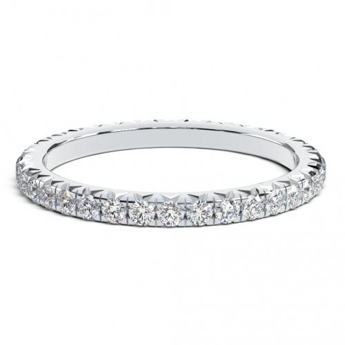 Round Brilliant Cut Classic Full Eternity  Eternity Bands  Wedding Ring