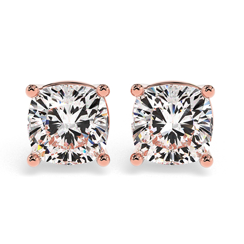 Cushion Cut    Earrings