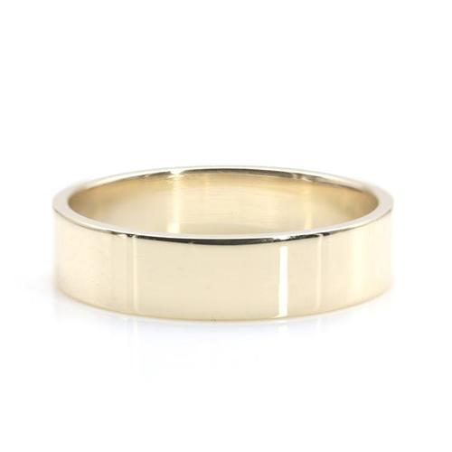 Flat Classic Bands Wedding Ring